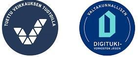 logot  Tuettu Veikkauksen tuotoilla ja Valtakunnallisen digitukiverkoston jäsen