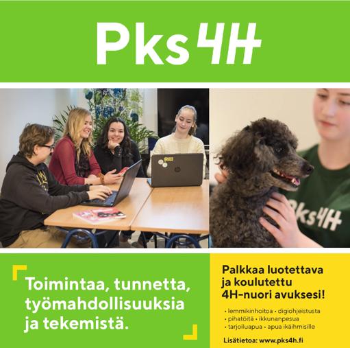 Tutustu uuteen interaktiiviseen Pks4H:n esitteeseemme. Näet toimintamme eri osa-alueet kerralla.