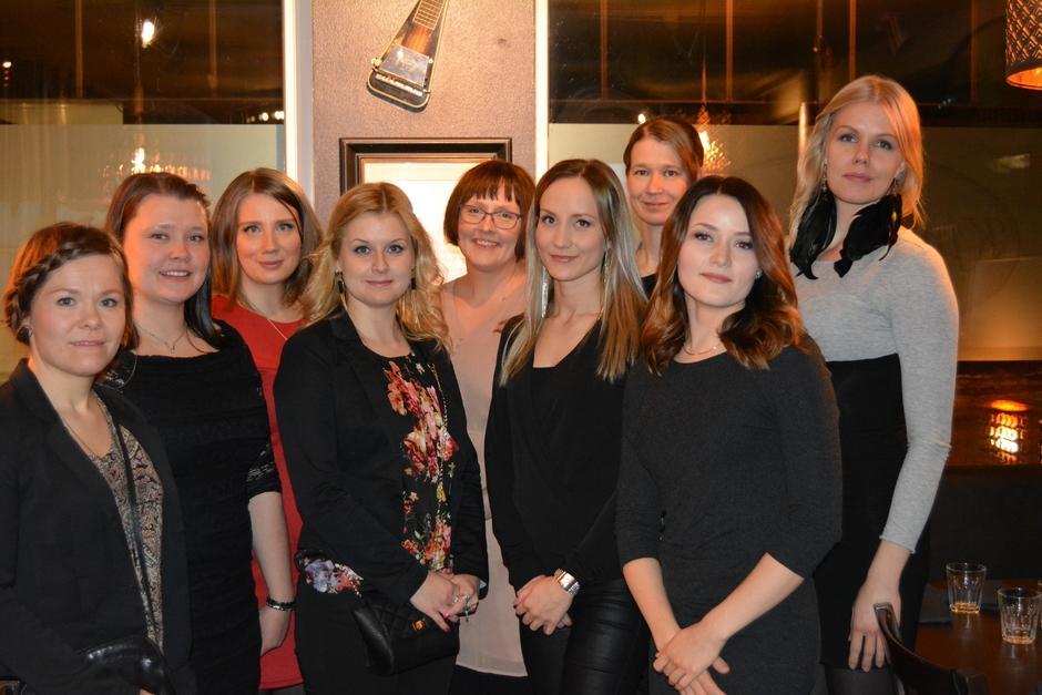 Savonia AMK:sta valmistuneet terveydenhoitajat 2016