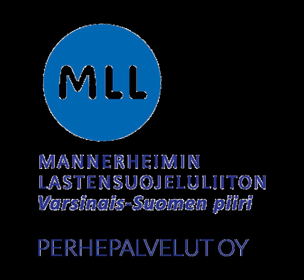 MLL Varsinais-Suomen piiri Perhepalvelut Oy:n logo.