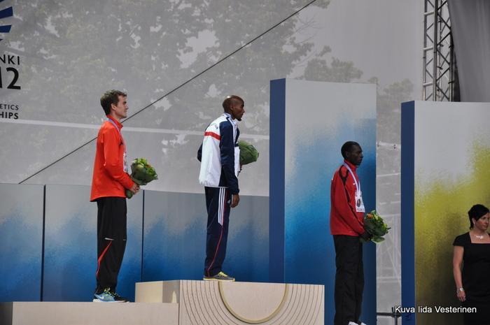 Miesten 5000 metrin palkinnot