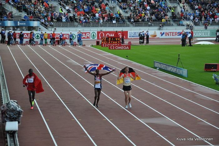 Miesten 500 metrin finalistit