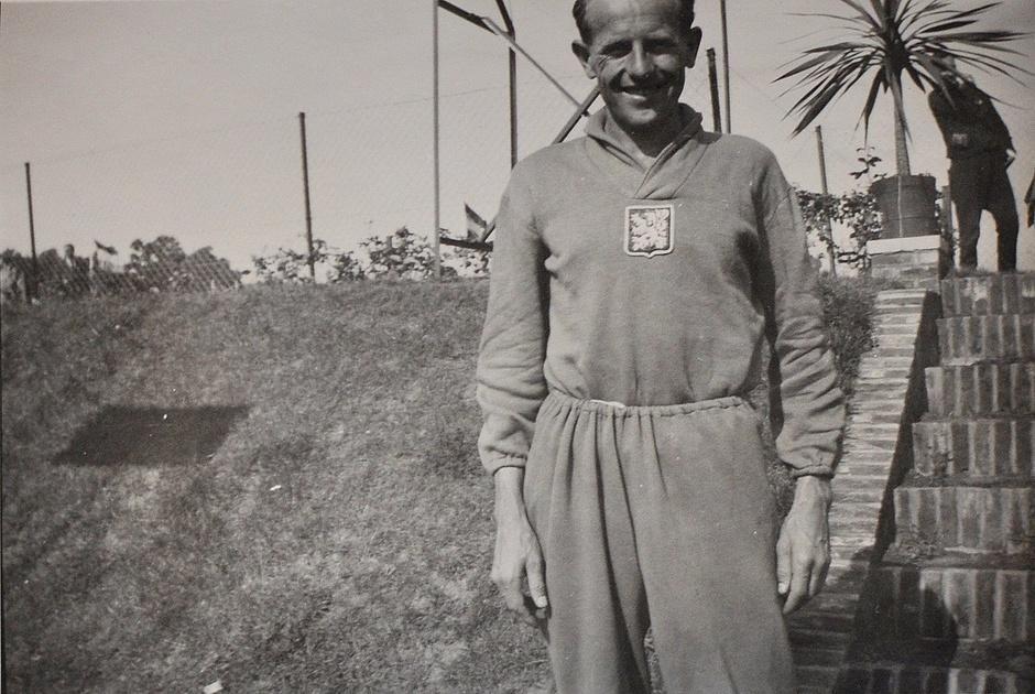 Emil Zatopek Brysselissä 1950.