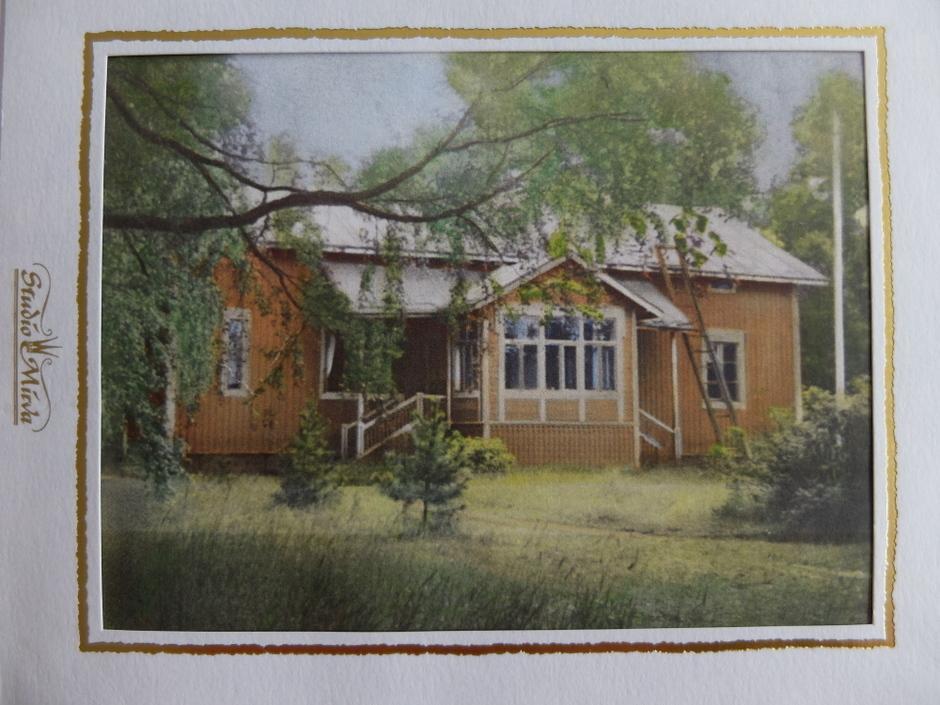 Lauri Santun värittämä kuva.