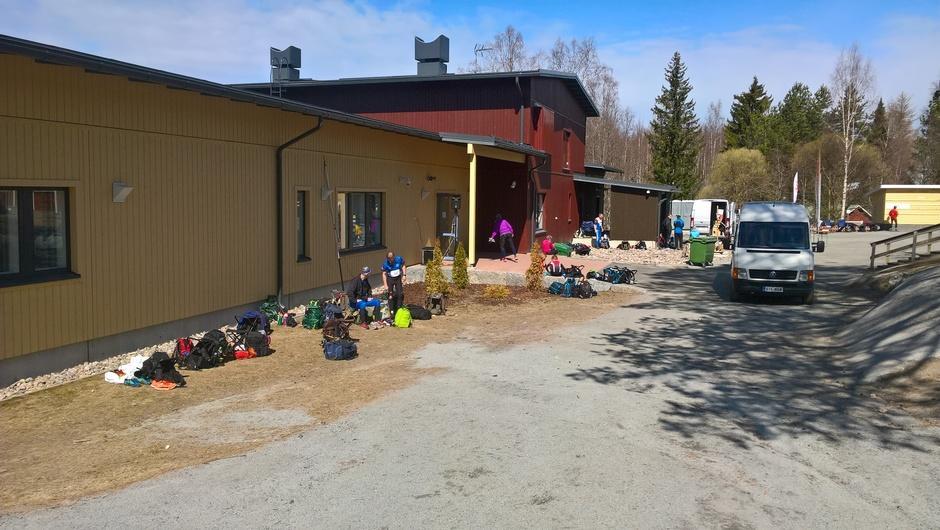 Einari Vuorelan koulu Jukojärvellä