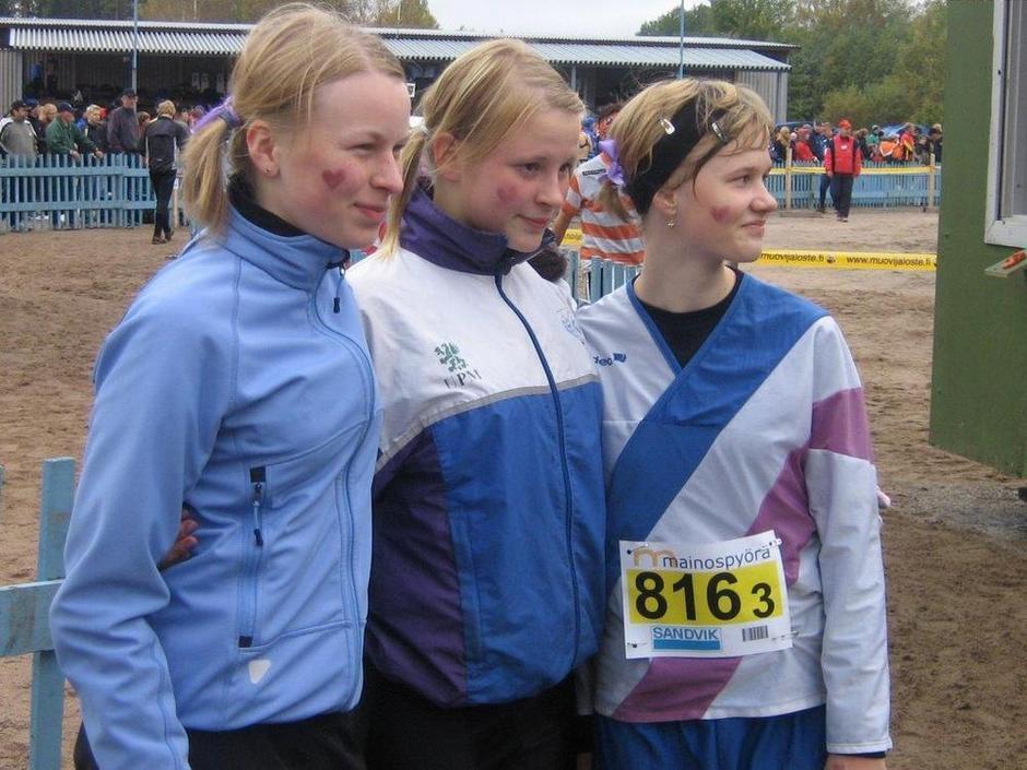 Sonja Mörsky, Milka Leppäsalmi  ja Sari Anttonen 2007 - Kuvat: Janne Mörsky -