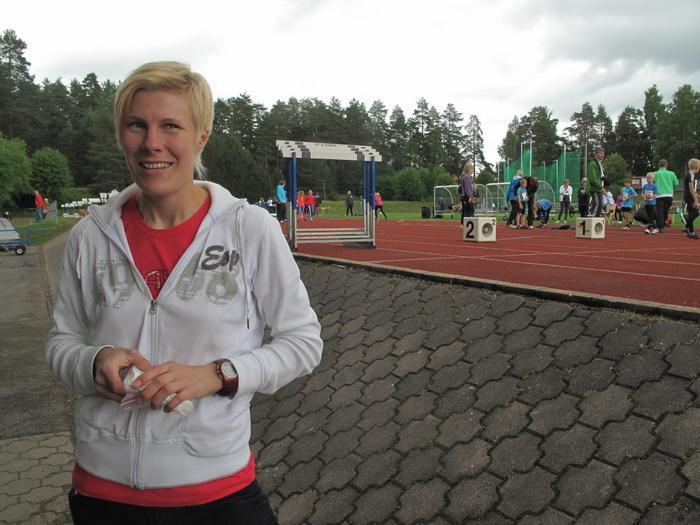 Kilpailunjohtaja Katri Paananen.