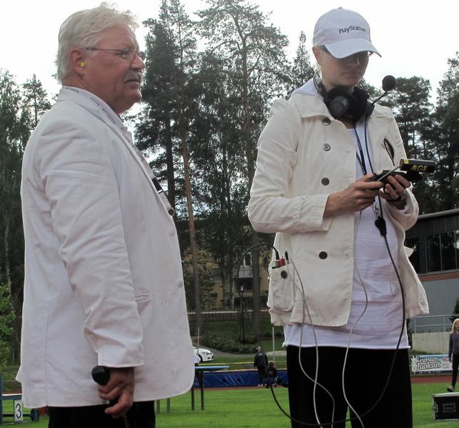 Lähettäjät Viljo Kupsa ja Reija Leppänen