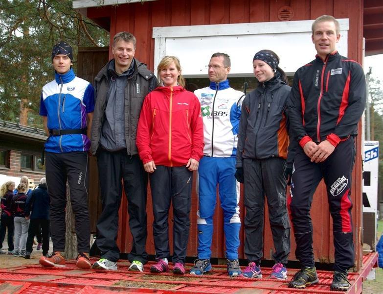 Kolmonen Keuruu Mikael Niemelä, Markku Järvinen, Heli Peltola, Juha Koskinen, Marika Savukoski, Matti Aalto