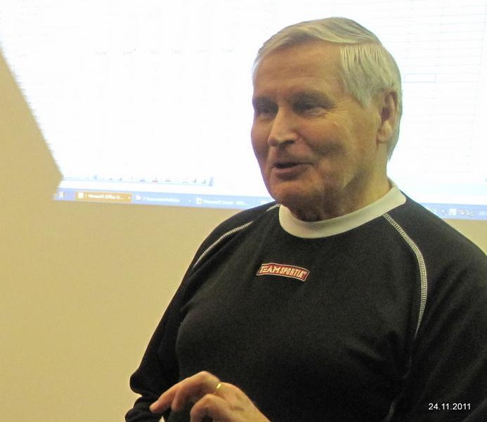 Osmo Kärkkäinen valittiin yksimielisesti seuran puheenjohtajaksi seuraavaksi vuodeksi.