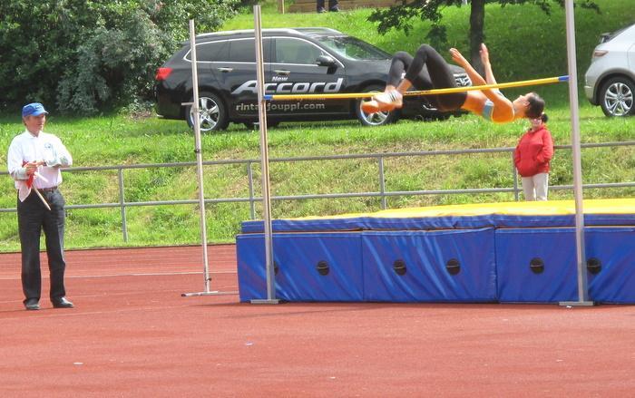 Naisten korkeushypyn voitti Lapuan Virkiän Elina Smolander.  1. Elina Smolander                         LapVi                 180    2. Viivi Voutilainen                       TuUL                  164   3. Titta Jämsä                             KannU                 164    4. Sari Mäkilammi                          AurVa                 159    5. Sini-Sofia Savola                       SeinäjSU              154