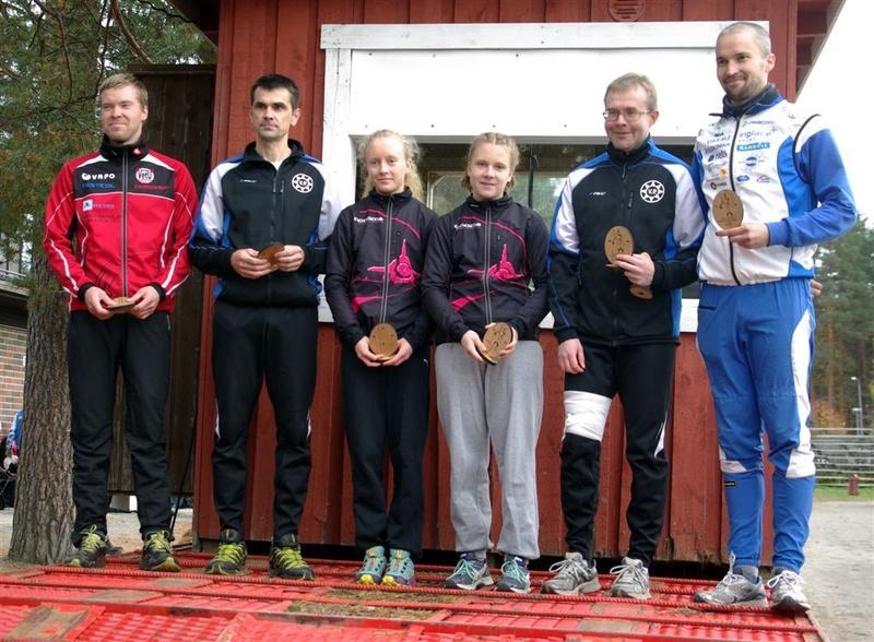 Kakkonen Laukaa Marko Kivelä, Petri Alavoittu, Anu ja Maiju Kovanen, Juha Lehtimäki, Jari Liuha