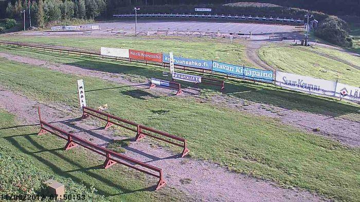 Web-kamerakuva liikuntapuistosta 11.8.2012 klo 7.50