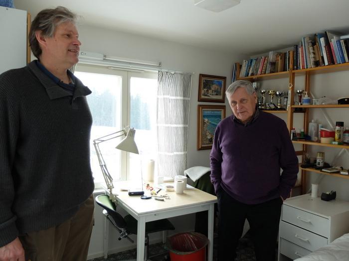 Panu Kontio ja Osmo Kärkkäinen