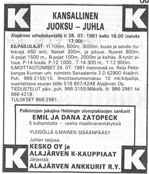 Vaasa 16.7.1981