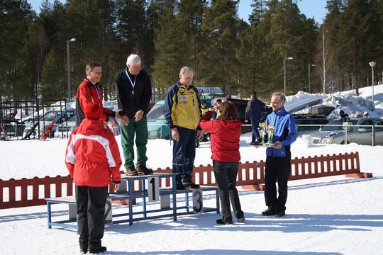 Palkintojen jako 4.4.2009 (kuva Kuhmo-Ski nettisivulta)