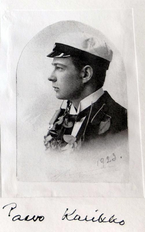 Ylioppilas Tampereen lyseosta v. 1923