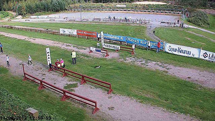Web-kamerakuva liikuntapuistosta 11.8.2012 klo 12.50