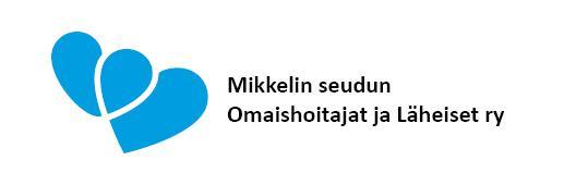 Mikkelin seudun Omaishoitajat ja Läheiset ry:n logo