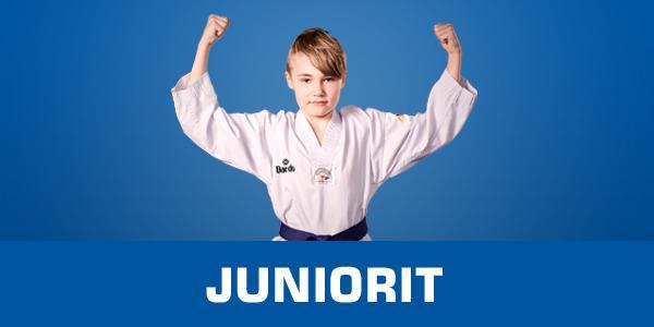 Juniori taekwondo liikkumisen iloa mukavassa seurassa