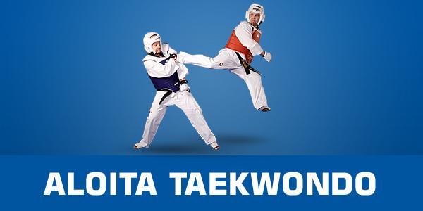 Aloita taekwondo voit aloittaa milloin vain