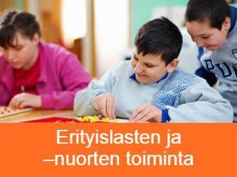 Erityistä tukea tarvitsevien lasten hoito