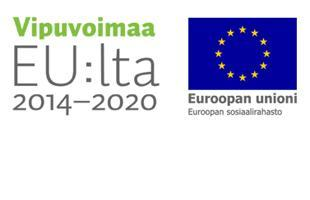 Kuvassa on EU:lta Vipuvoimaa 2014-2020 logo.