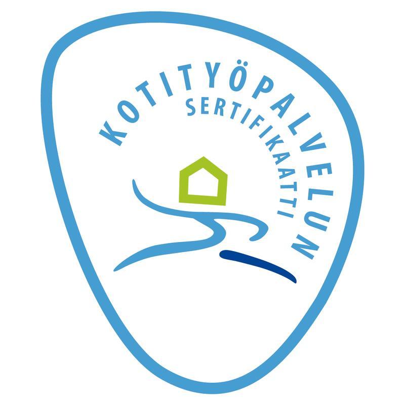 Kuvassa on Kotipalvelun sertifikaatti.