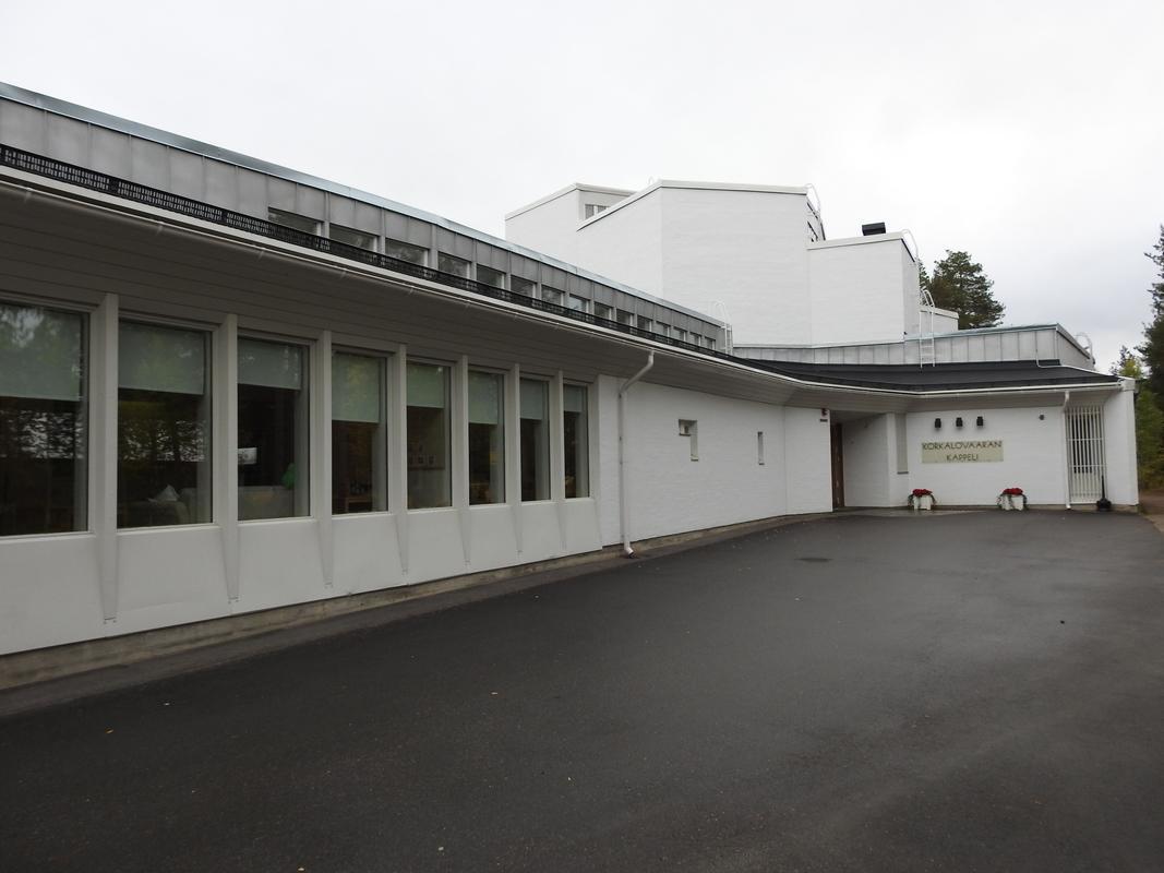 Korkalovaaran kappeli Rovaniemellä
