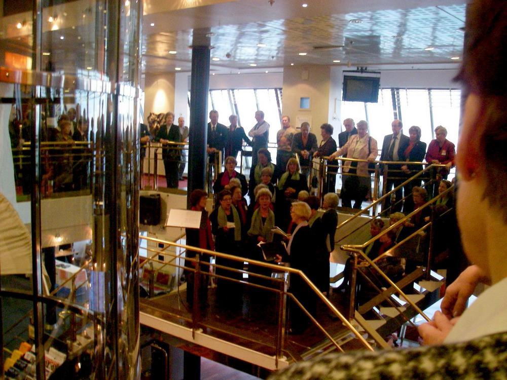 Lämäniloa-risteily SiljaEuropalla 16.11.2006