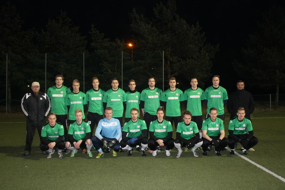 Miesten joukkue kaudella 2015