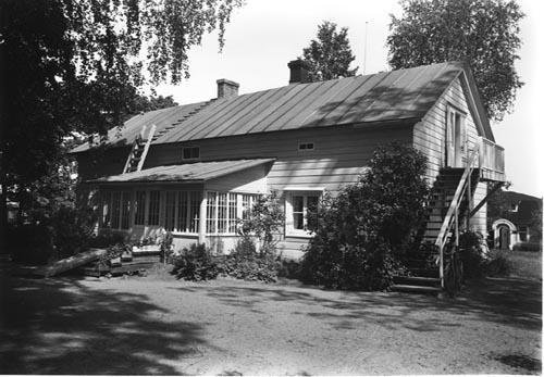 Kuva Ylistalosta vuodelta 1953.