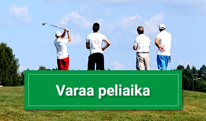 Varaa peliaika Hiisi-Golfista.