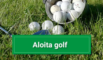 Aloita golf Hiisi-Golfissa.