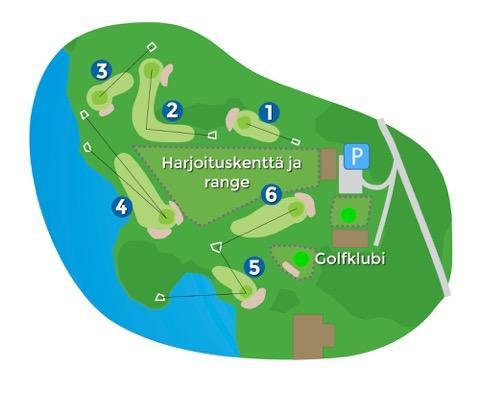 Hiisi-Golfin Hiisikenttä 6r.