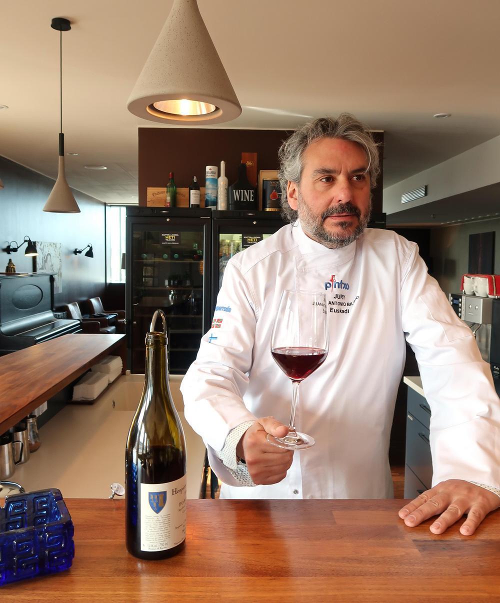 Baskilainen erikoistuomari Juan Antonio Bilbao arvioi ravintoloiden kokonaistarjontaa.