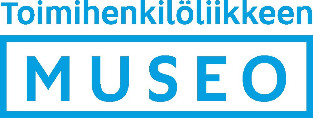 Toimihenkilöliikkeen Museon logo.