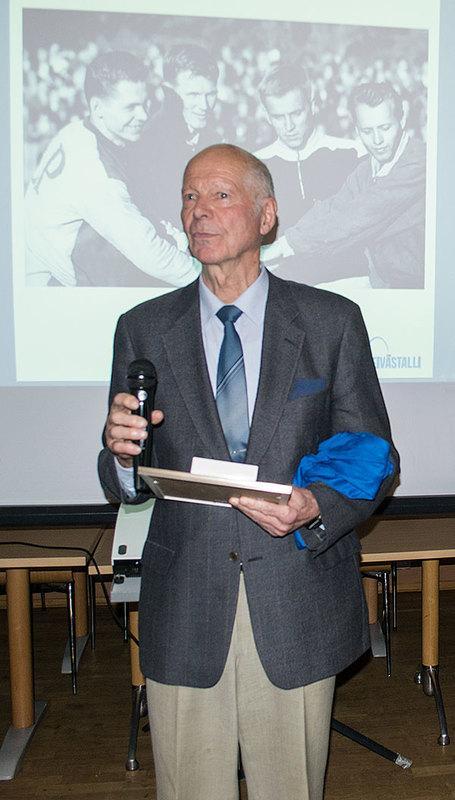 Risto Ankio sai ansaitsemansa paikan suomalaisen seiväshypyn Hall of Fame -kunniakerhossa 14.1.2017. Kiitospuheessaan Risto kiitti erityisesti Eeles Landströmiä valmennuksestaan.