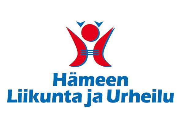 Hämeen Liikunta ja Urheilu ry:n logo.