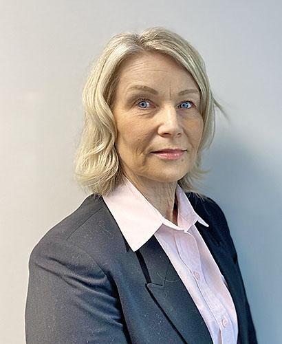Kuvassa Ulla Laitinen.