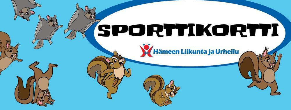 Banneri Sporttikortin sivusto-osioon.
