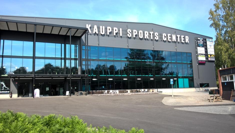 Kuvassa Kauppi Sports Center. Talo, jossa myös HLU:n toimisto sijaitsee.