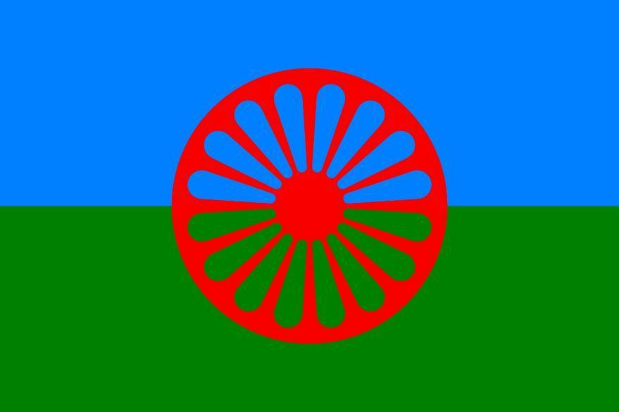 Romanien lippu.