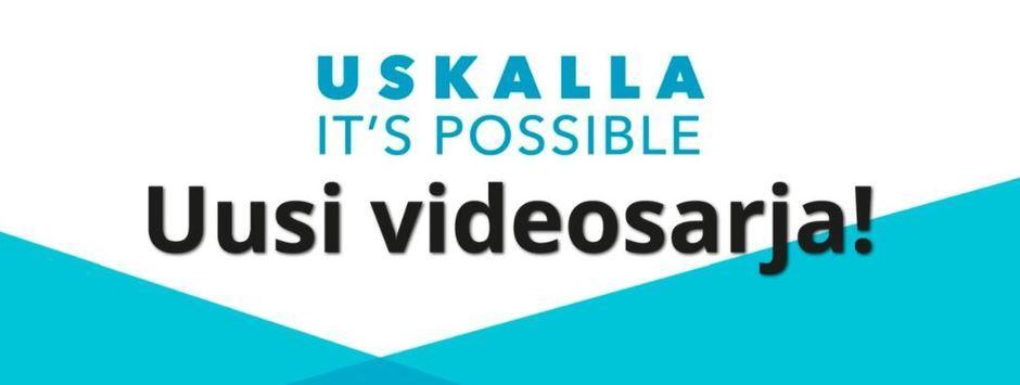 Siirry katsomaan Diak:nhankkeissa tuotettu videosarjaUskalla!It's possible.