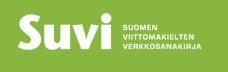 Suomen viittomakielten verkkosanakirjan logo.