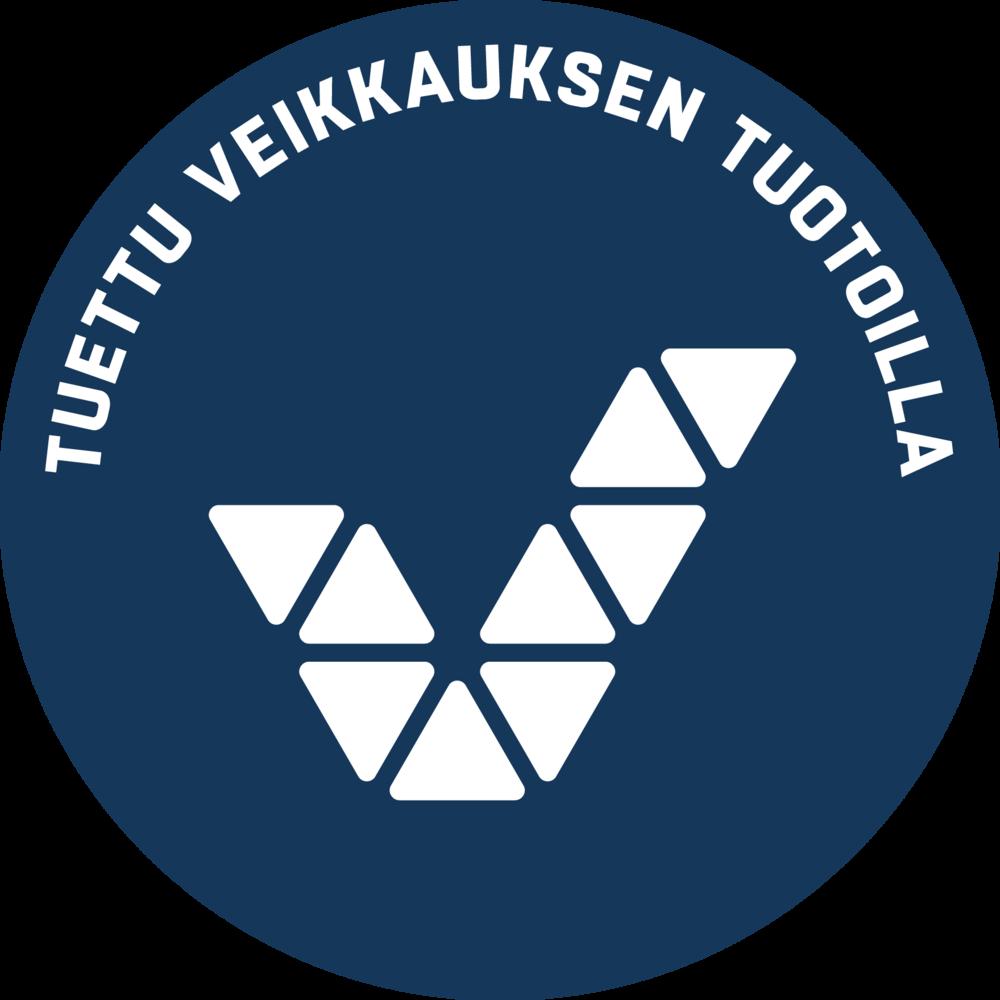 Toimintaa tukee Veikkaus. Veikkauksen logo.
