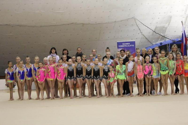 SVS Open 2013 participants of prejunior group competition, junior and senior series at Ratiopharm Arena.