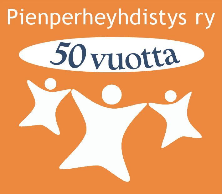 Pienperheyhdistyksen 50-juhlavuoden logo