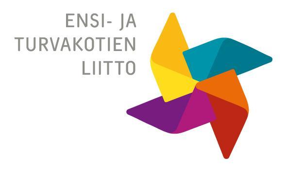 Ensi- ja turvakotien liiton logo.
