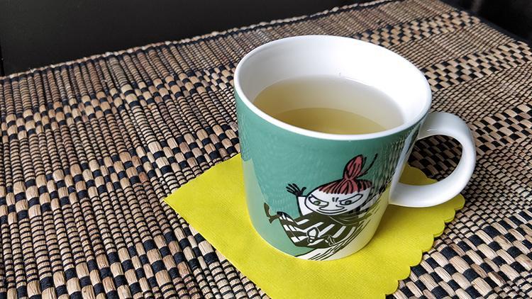 Kuvassa teekuppi.